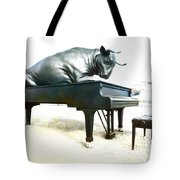 Playing The Minute Waltz Tote Bag