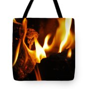 Playing With Fire II Tote Bag