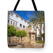 Plaza De La Iglesia In Marbella Tote Bag