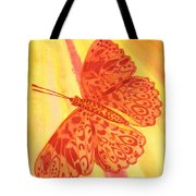 Pleasure Butterfly Tote Bag