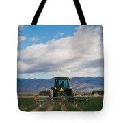 Plowing Field Tote Bag
