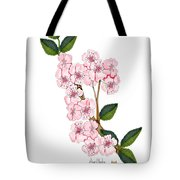 Plum Beautiful Tote Bag