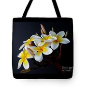 Plumeria Bouquet Tote Bag