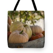Plump And Purdy Pumpkins Tote Bag