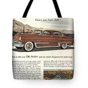 Plymouth De Soto 1953 Tote Bag