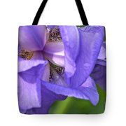 Poetry Of An Iris Tote Bag
