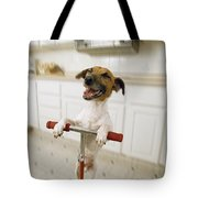 Pogo Dog Tote Bag