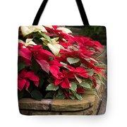 Poinsettia Garden Tote Bag