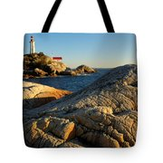 Point Atchison Lighthouse 1 Tote Bag