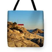 Point Atchison Lighthouse 2 Tote Bag