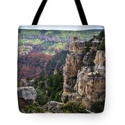 Point Imperial Cliffs Grand Canyon Tote Bag