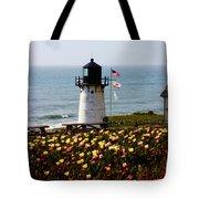 Point Montara Lighthouse Vista Tote Bag