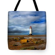 Point Of Ayr Beach Tote Bag by Adrian Evans