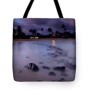 Poipu Evening Storm Tote Bag by Mike  Dawson