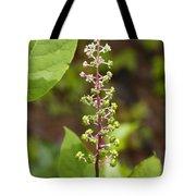Poke Sallet Blossom Spire - Phytolacca Acinosa  Tote Bag