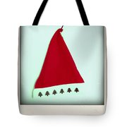 Polaroid Of A Christmas Hat Tote Bag