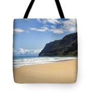 Polihale Beach Tote Bag