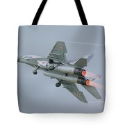 Polish Air Force Mig-29 Tote Bag