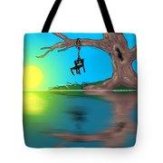 Political Sunrise Tote Bag