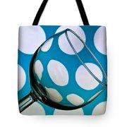 Polka Dot Glass Tote Bag