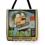 Polka Queen Poster Tote Bag