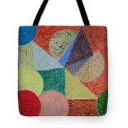 Polychrome Tote Bag