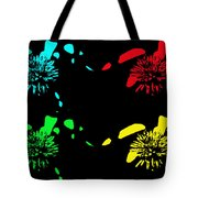 Pom Pom Pop Art Tote Bag