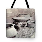 Pompeii: Cooking Pots Tote Bag