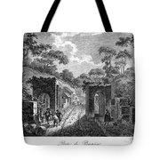 Pompeii: Herculaneum Gate Tote Bag