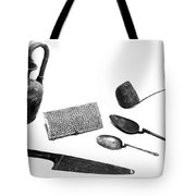 Pompeii: Kitchen Utensils Tote Bag