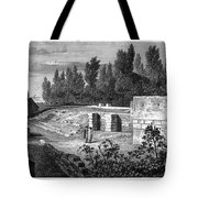 Pompeii: Stairs, C1830 Tote Bag