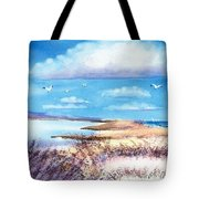 Pond At South Cape Beach Tote Bag