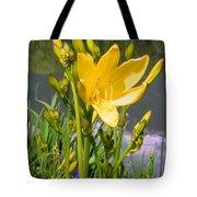 Pond Lily Tote Bag