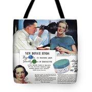 Ponds Face Powder, 1934 Tote Bag