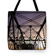 Pont Champlain - Montreal Tote Bag