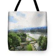 Pont De St Benezet - Avignon Tote Bag