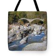 Ponte Dei Salti - Lavertezzo Tote Bag