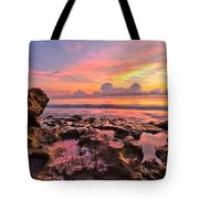 Pool Clouds Tote Bag