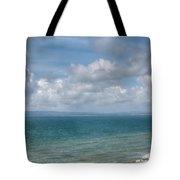 Poole Bay Panorama Tote Bag