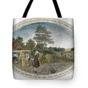 Poor Richard Illustrated Tote Bag by Granger