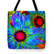 Pop Art Daisies 2 Tote Bag