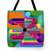 Pop Flower Tote Bag