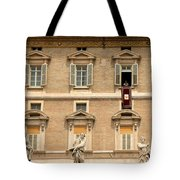 Pope Benedict Xvi C Tote Bag by Andrew Fare