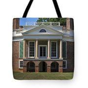 Poplar Forest From The South Lawn Tote Bag