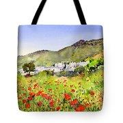 Poppies At Las Hortichuelas Tote Bag