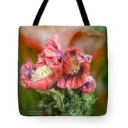 Poppies Big And Bold Tote Bag