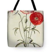 Poppies Corn Tote Bag