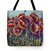 Poppies In My Field Tote Bag