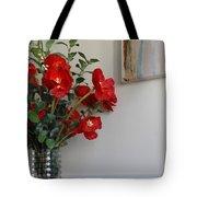 Poppies In Oil Tote Bag