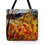 Poppies In Provence 456321 Tote Bag